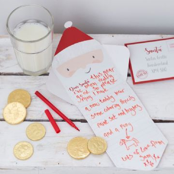 Christmas Letter To Santa Kit - pack of 2